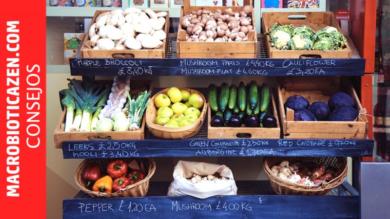 Comidas con verduras niños macrobiotica zen