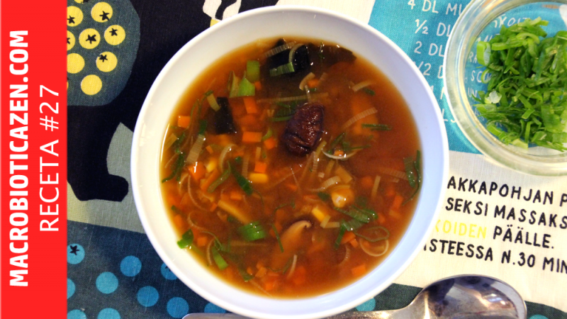 MISO SOUP | Wholesome, Vegan and Macrobiotic