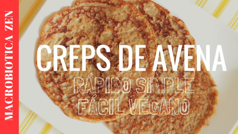 PANQUEQUES DE AVENA | Pancakes Sin Huevo Leche Harina Azúcar